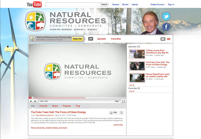 House Natural Resources Democrats Twitter